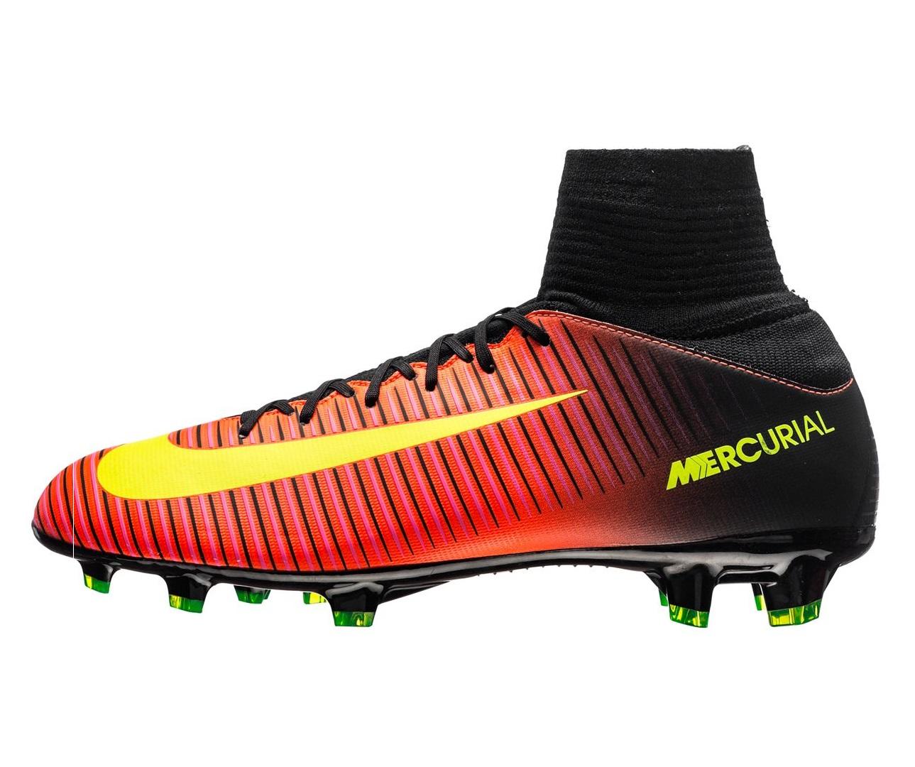 Бутсы Nike Mercurial Superfly V FG Total Crimson Volt Black Kids f70d77b056a2c