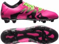 Бутсы Adidas X 15.1 FG/AG Shock Pink/Solar Green/Core Black