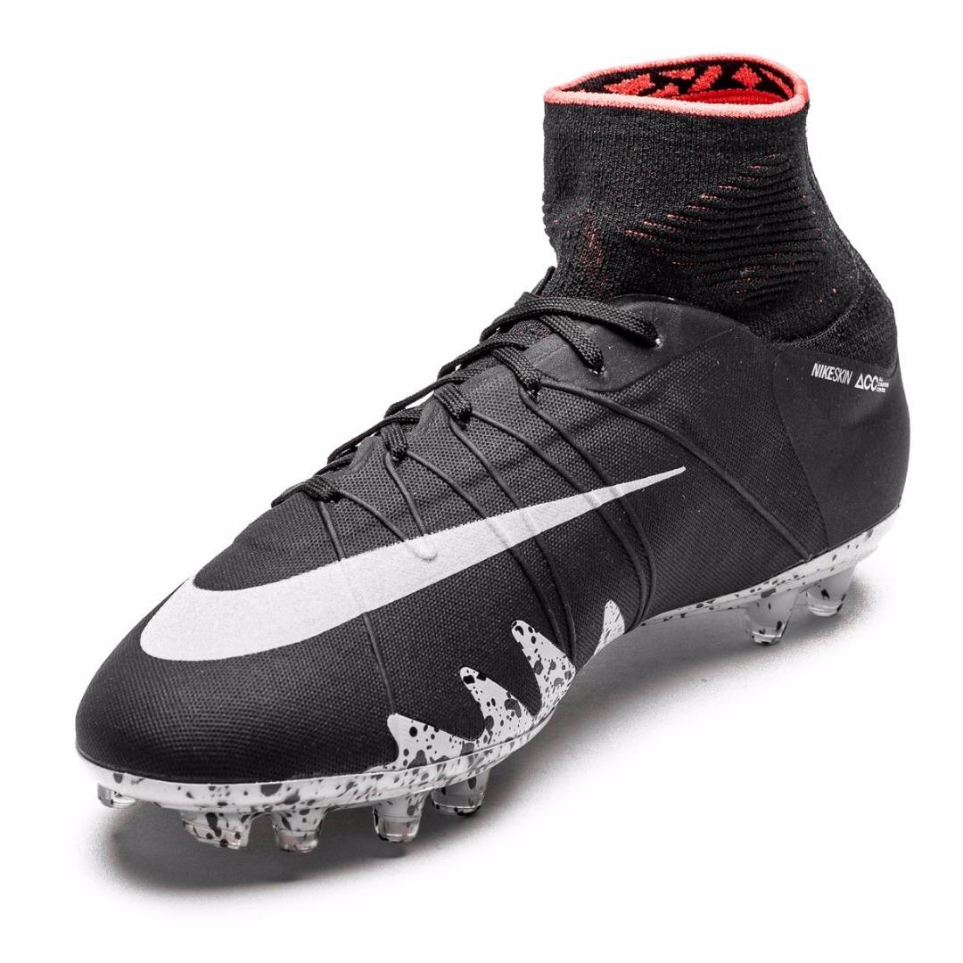 Купить Бутсы Nike Hypervenom Phantom II Neymar x Jordan FG Black Metallic  Silver Light 272d44bb3f6fc