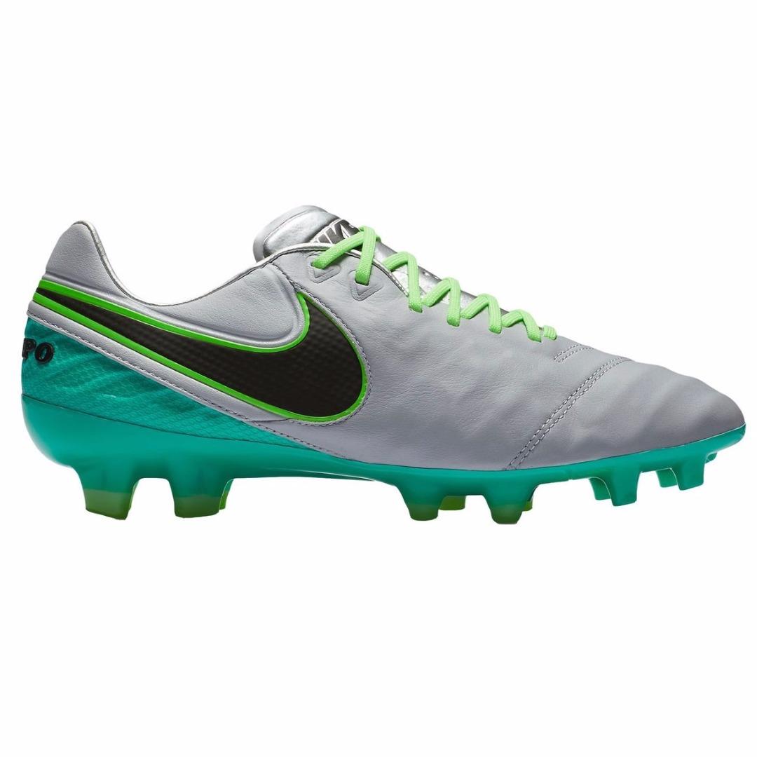 wholesale dealer f3152 5a518 Бутсы Nike Tiempo Legend 6 FG Wolf Grey/Black/Ghost Green 819177-005
