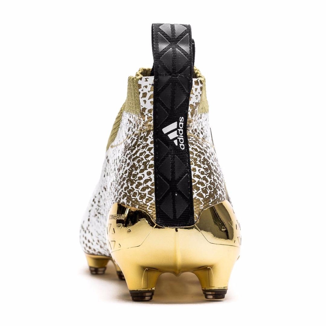 Бутсы Adidas ACE 16+ PureControl FGAG Stellar Pack WhiteCore BlackGold Metallic AQ6357