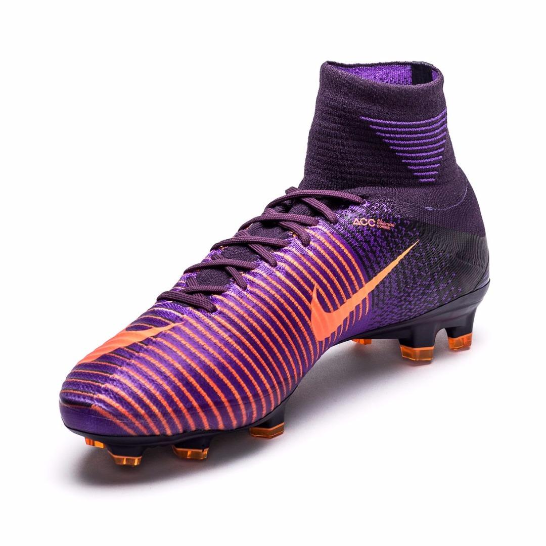 03161fb2371d Купить Бутсы Nike Mercurial Superfly V FG Floodlights Pack - Purple  Dynasty Bright Citrus 831940