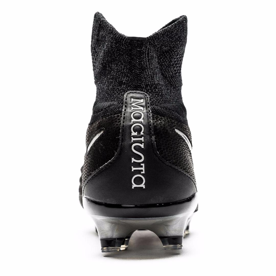 1a04d5b9 Бутсы Nike Magista Obra II Leather FG Tech Craft Pack 2.0 - Black/Metallic  Silver 852504-001