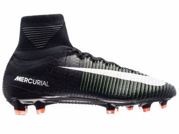 Бутсы Nike Mercurial Superfly V FG Dark Lightning Pack - Black/White/Electric Green 831940-013