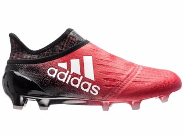 Бутсы Adidas X 16+ PureChaos FG/AG Red Limit - Red/White/Core Black BB5612