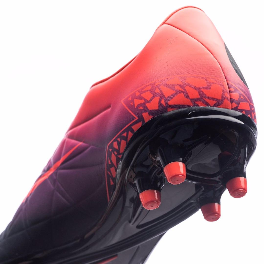 Nike hypervenom orange lila