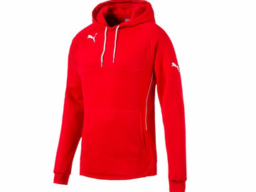 Толстовка Hoody Puma Red-White 653979 01