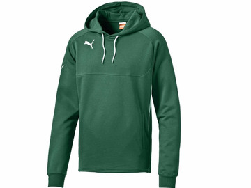 Толстовка Hoody Puma Hoody Power Green-White 653979 05