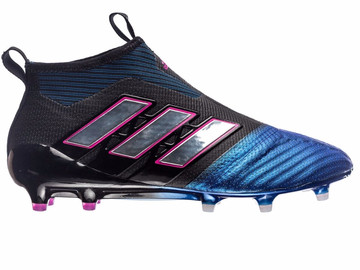 Бутсы Аdidas ACE 17+ PureControl FG/AG Blue Blast - Core Black/Feather White/Blue  BB4312