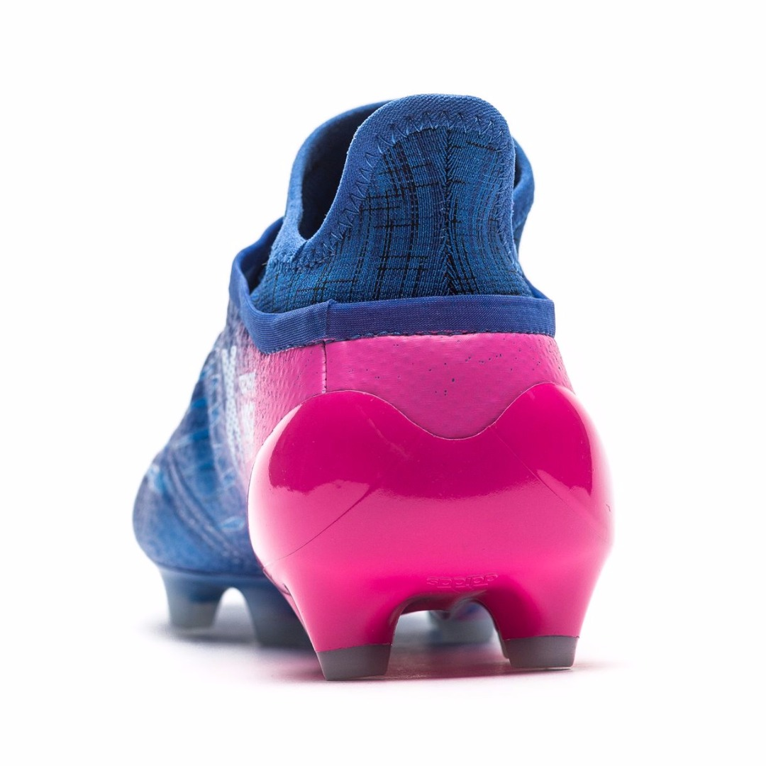 07e5099c Бутсы Adidas X 16+ PureChaos FG/AG Blue Blast - Blue/White/Shock Pink BB5613