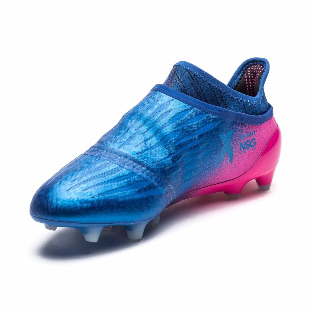 548939e0 Купить Бутсы Adidas X 16+ PureChaos FG/AG Blue Blast - Blue/White