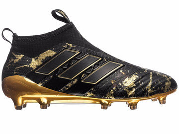 Бутсы Adidas ACE 17+ PureControl FG/AG Pogba Capsule Collection - Core Black/Gold LIMITED EDITION  BY9143