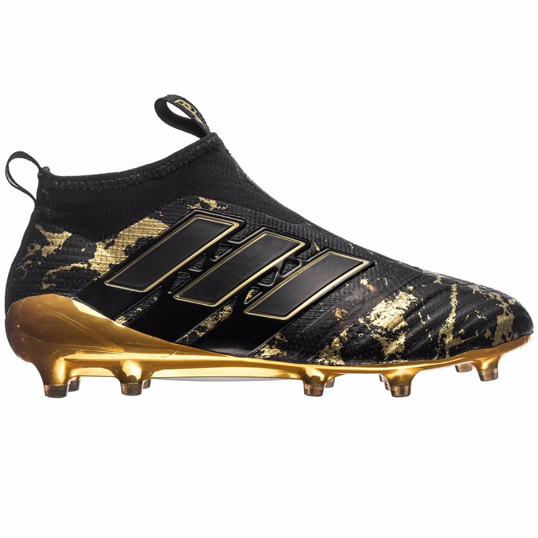 23e2168d Бутсы Adidas ACE 17+ PureControl FG/AG Pogba Capsule Collection - Core  Black/Gold LIMITED EDITION BY9143
