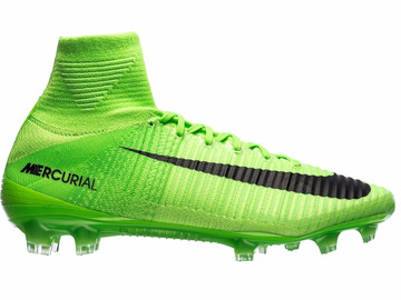 Бутсы Nike Mercurial Superfly V FG Radiation Flare - Electric Green/Black 831940-305