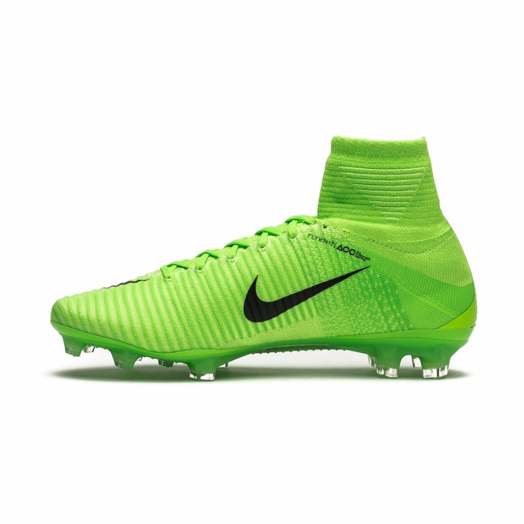 Бутсы Nike Mercurial Superfly V FG Radiation Flare - Electric Green Black  831940-305 74fed88537cd4