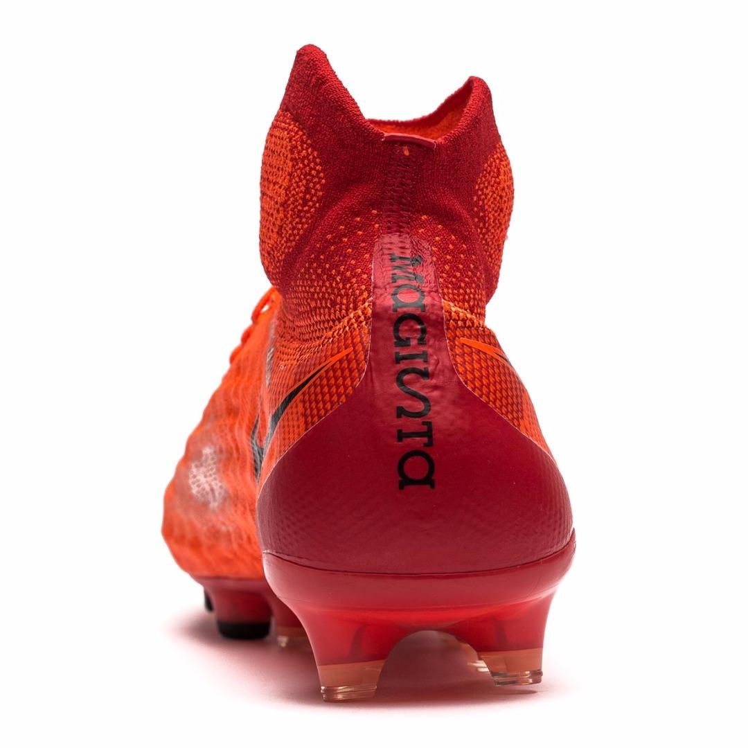 30e498979 Бутсы Nike Magista Obra II FG Radiation Flare - Total Crimson/Black  844595-806