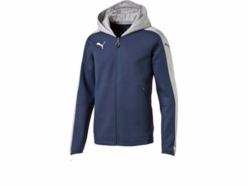 Худи Puma Veloce Casuals Zip-Thru Hoody Dark Denim 654645 431