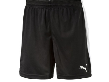 Шорты игровые Puma Pitch Shorts Without Innerbrief black-white 702072 03