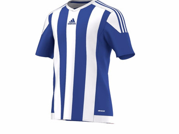 Игровая майка Adidas Striped 15 JSY BOBLUE/WHITE S16138