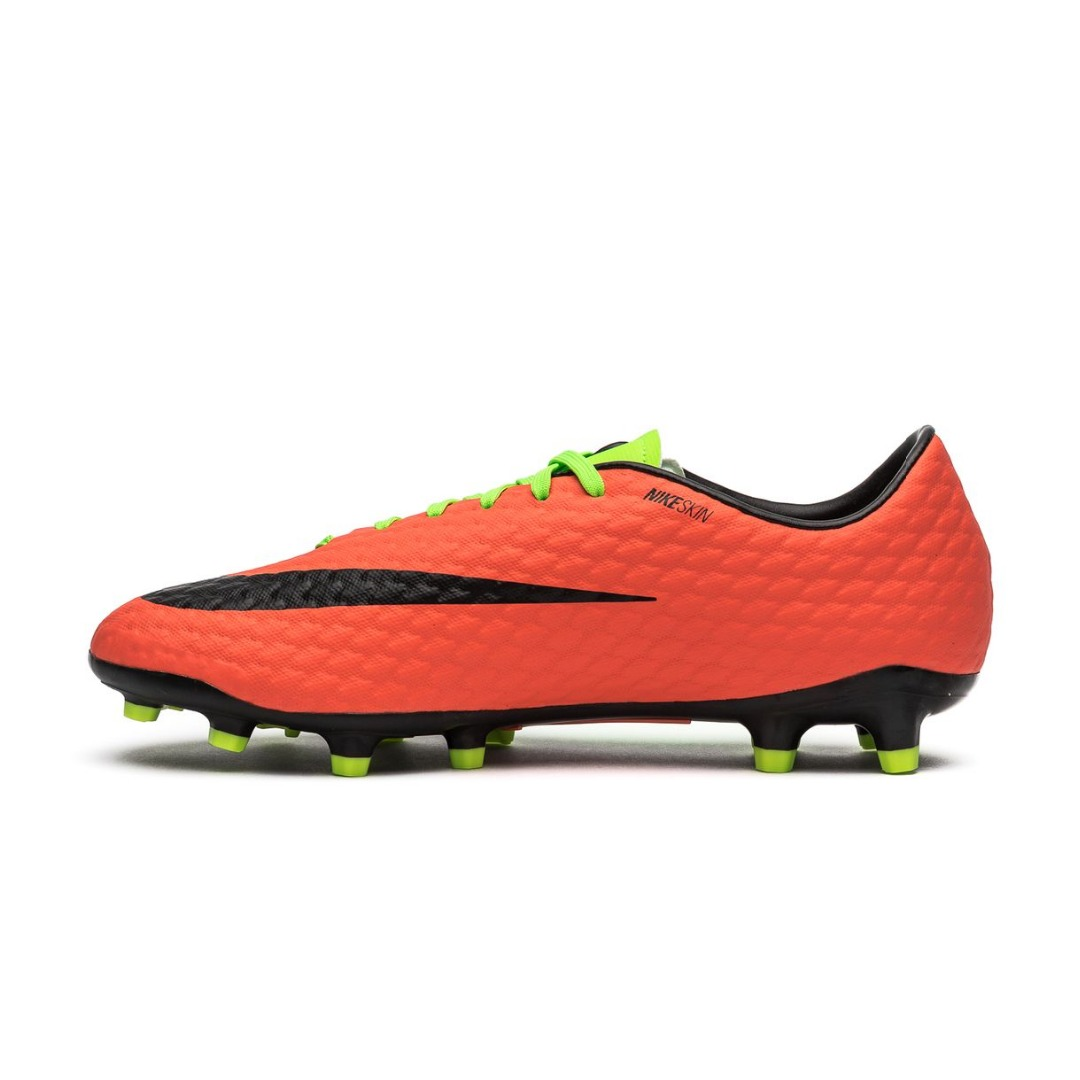 91211dd3 Бутсы Nike Hypervenom Phelon 3 FG Radiation Flare - Electric  Green/Black/Hyper Orange 852556-308