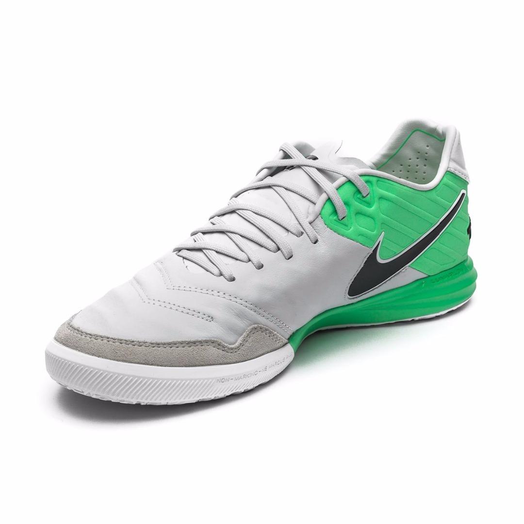 242675a655de Купить Футзалки Nike TiempoX Proximo IC Motion Blur - Pure Platinum/Electro  Green 843961-