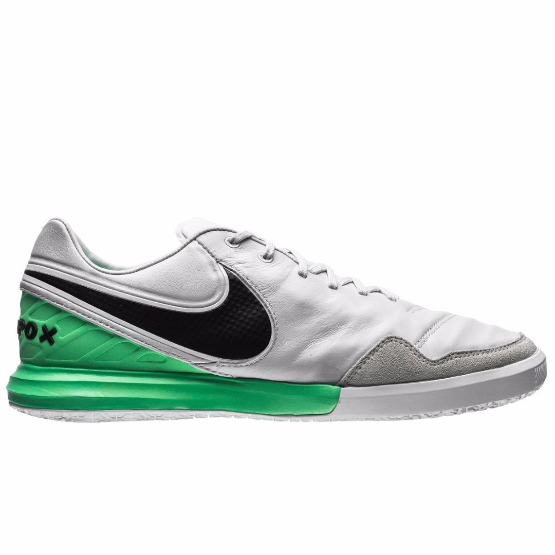 df6f9fbe1531 Футзалки Nike TiempoX Proximo IC Motion Blur - Pure Platinum/Electro Green  843961-004