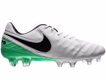 Бутсы Nike Tiempo Legend 6 FG Motion Blur - White/Black/Electro Green 819177-103