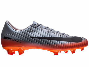 Бутсы Nike Mercurial Victory VI CR7 Chapter 4 FG - Cool Grey/Orange 852528-001