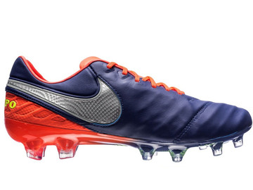 Бутсы Nike Tiempo Legend 6 FG Time To Shine - Deep Royal Blue/Chrome/Total Crimson 819177-409