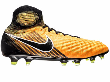 Бутсы Nike Magista Obra II FG Lock in. Let loose. - Laser Orange/Black/White 844595-801