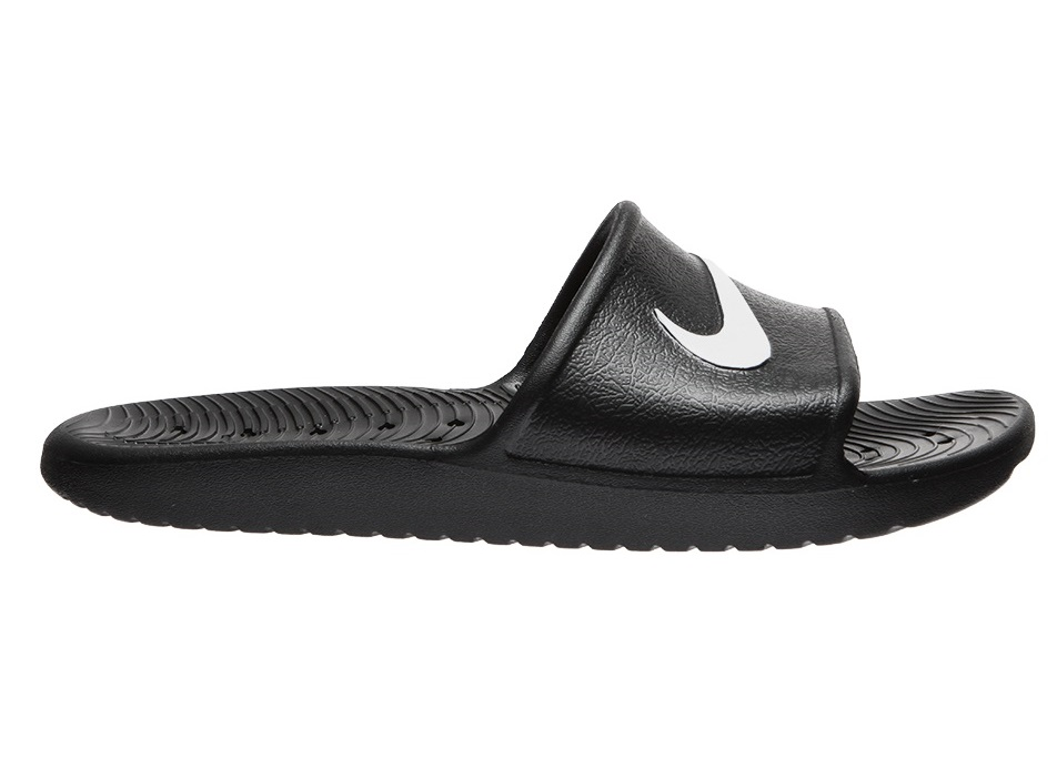 16ccd003 Сланцы Nike Kawa Shower Bathing Shoes - black/white 832528-001