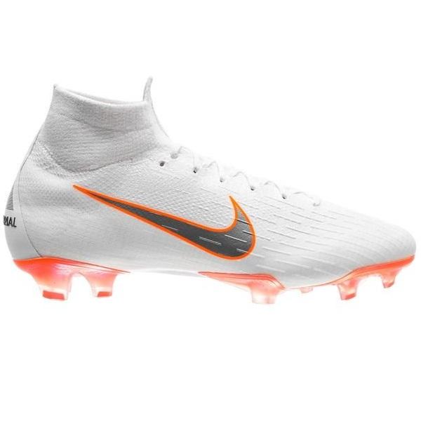 a7d3efa3 Бутсы Nike Mercurial Superfly 6 Elite FG Just Do It - White/Total Orange  AH7365-107
