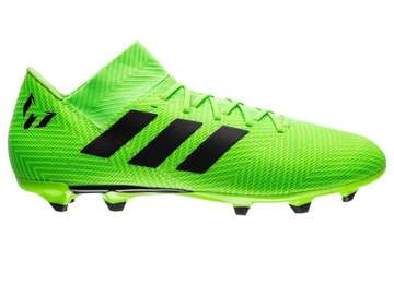 Бутсы adidas Nemeziz Messi 18.1 FG/AG Energy Mode - Solar Green/Core Black DA9586
