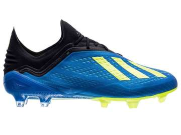 Бутсы Adidas X 18.1 FG/AG Energy Mode - Blue/Yellow CM8365