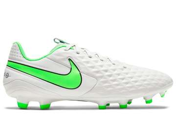 Бутсы Nike Tiempo Legend 8 Academy MG Spectrum - Platinum Tint/Rage Green AT5292-030