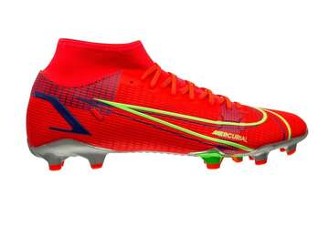 Бутсы  Nike Mercurial Superfly 8 Academy MG Spectrum - Bright Crimson/Metallic Silver CV0843-600