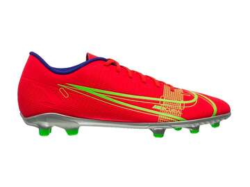 Бутсы Nike Mercurial Vapor 14 Club MG Spectrum - Bright Crimson/Metallic Silver CU5692-600