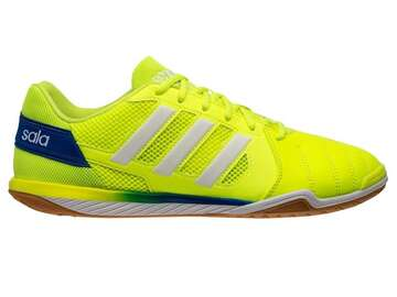 Футзалки Adidas Top Sala IC - Solar Yellow/Footwear White/Glow Blue G55908
